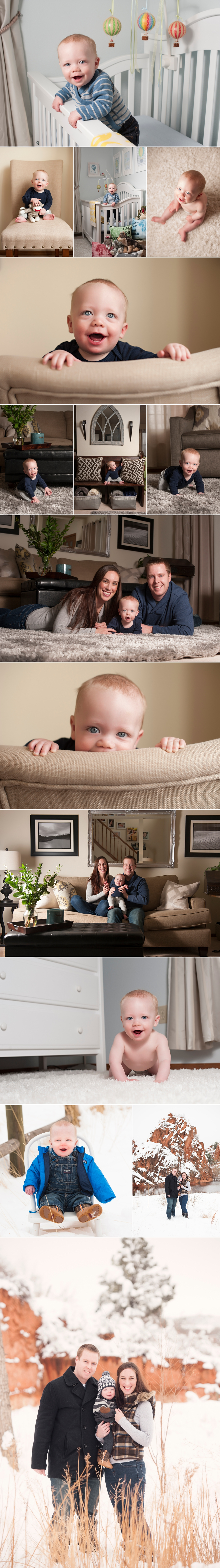 Colorado springs 6 month baby photography Jonathan Betz