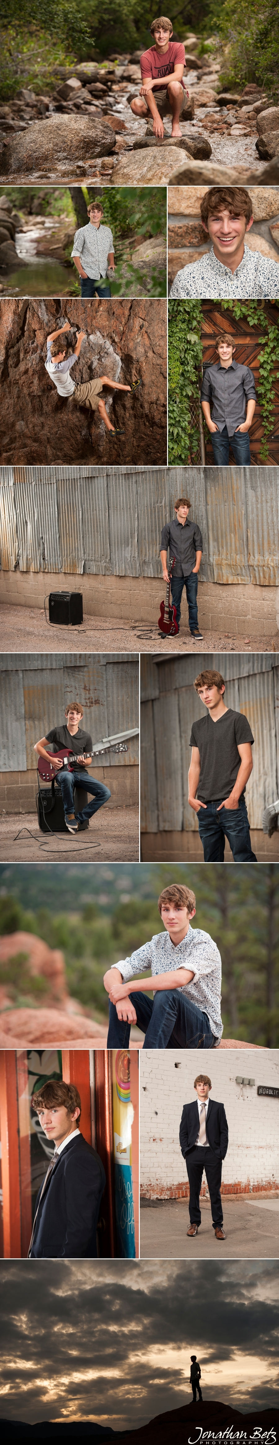 Castle Rock & Colorado Springs High School Senior Photographer Jonathan Betz Photography