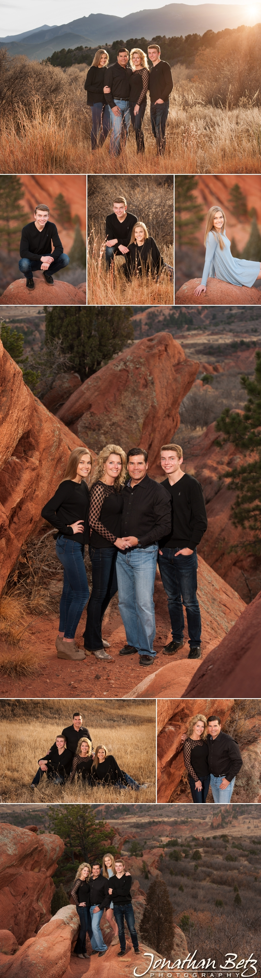 Colorado Springs Family Photographer Outdoor Family Pictures Jonathan Betz Photography 1
