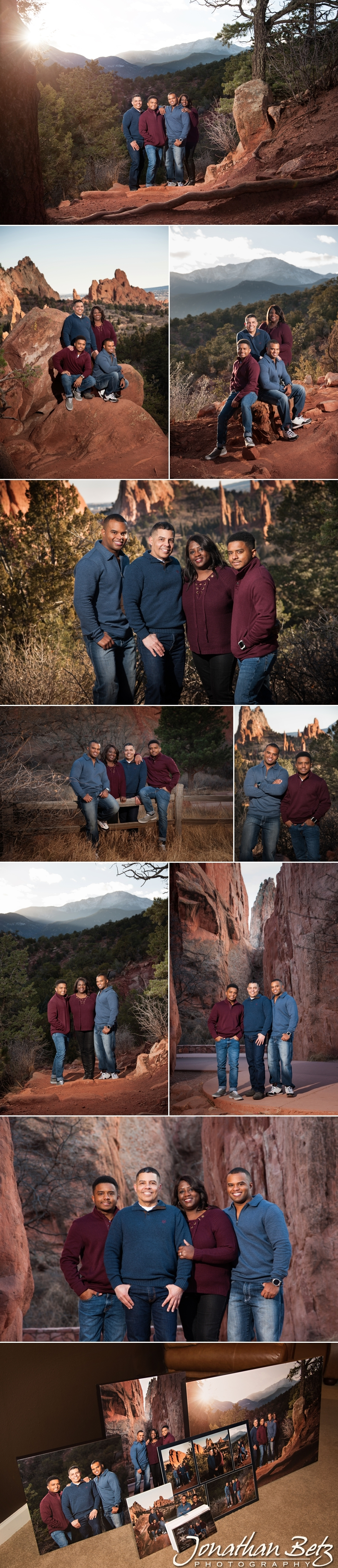 Adventure Family Portraits Jonathan Betz Photography Colorado Springs Garden of the Gods 1