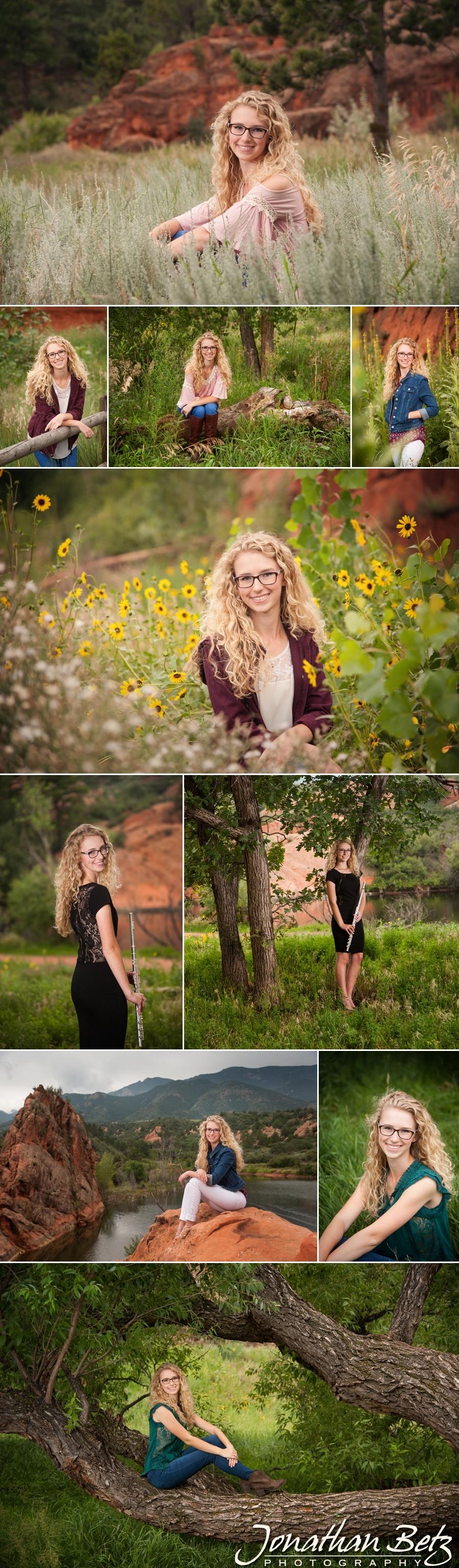 Cheyenne Mountain High School senior portraits Jonathan Betz Photography Colorado Springs Photographer 1