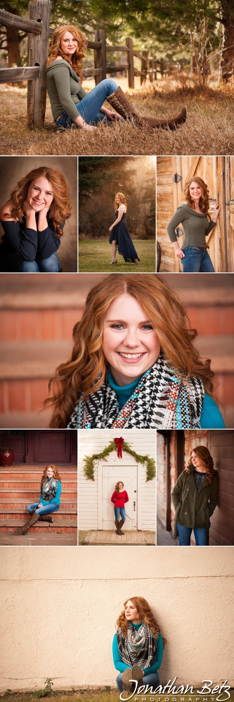 Woodland Park High School Senior Photographer Jonathan Betz Photography Colorado Springs 1