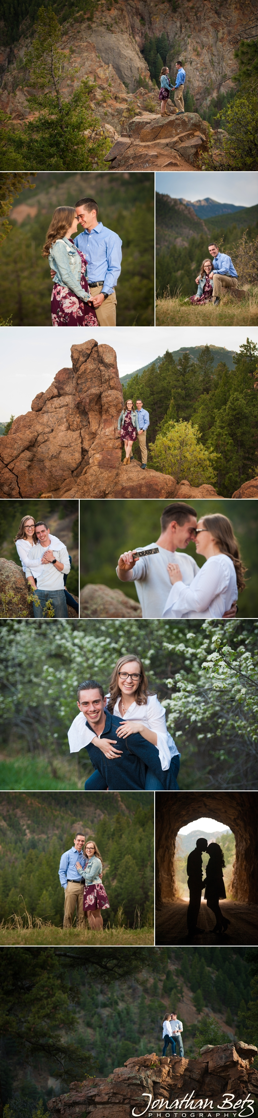 Colorado Springs Engagement Pictures Jonathan Betz Photography Wedding Photographer 1
