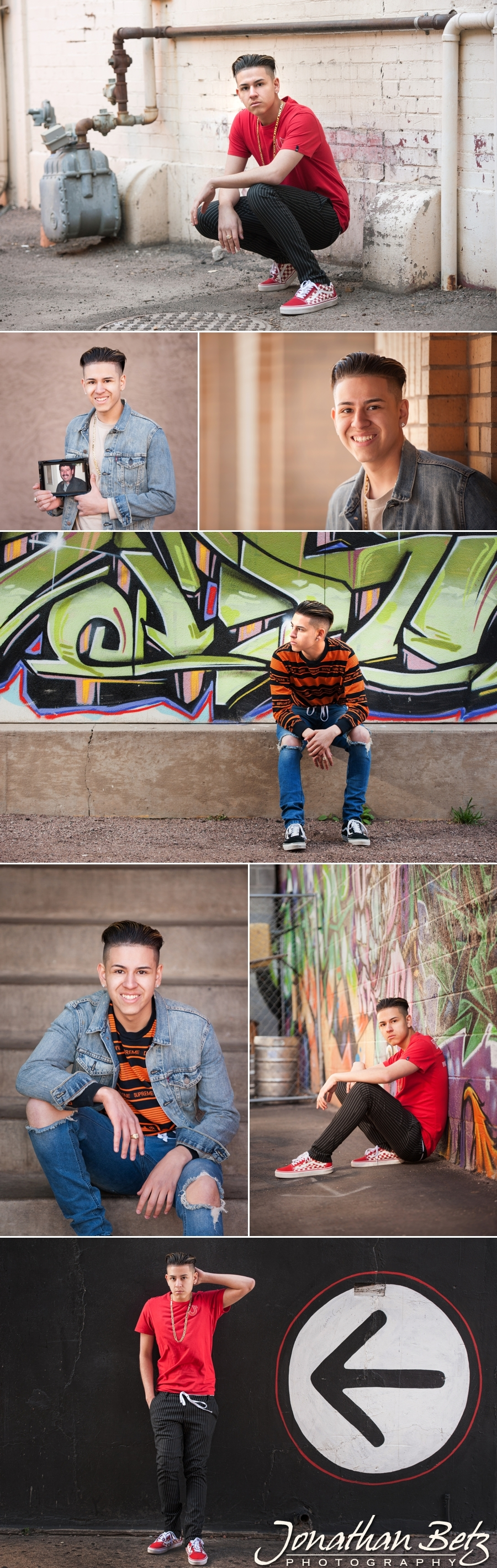 Colorado Springs High School Senior Portraits Jonathan Betz Photography 1