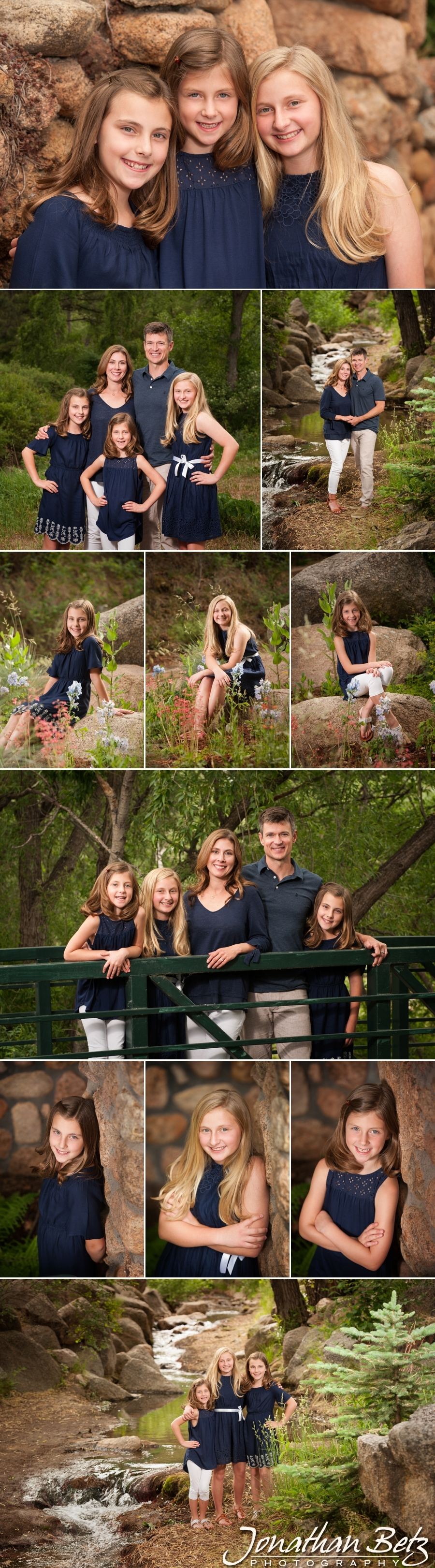 Family Pictures Cheyenne Canon Colorado Springs Jonathan Betz Photography Professional 1