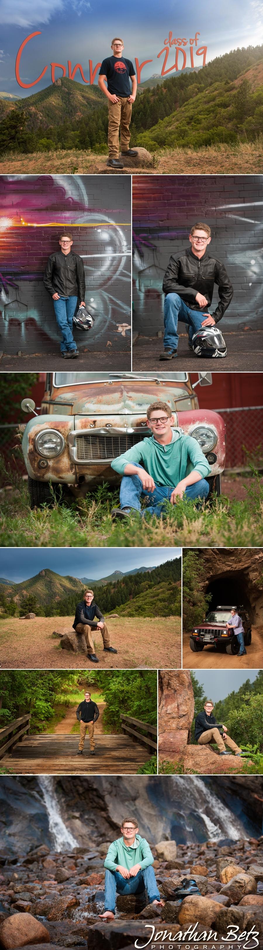 Destination Colorado Springs Senior Pictures Jonathan Betz Photography high school senior photographer Castle Rock 1