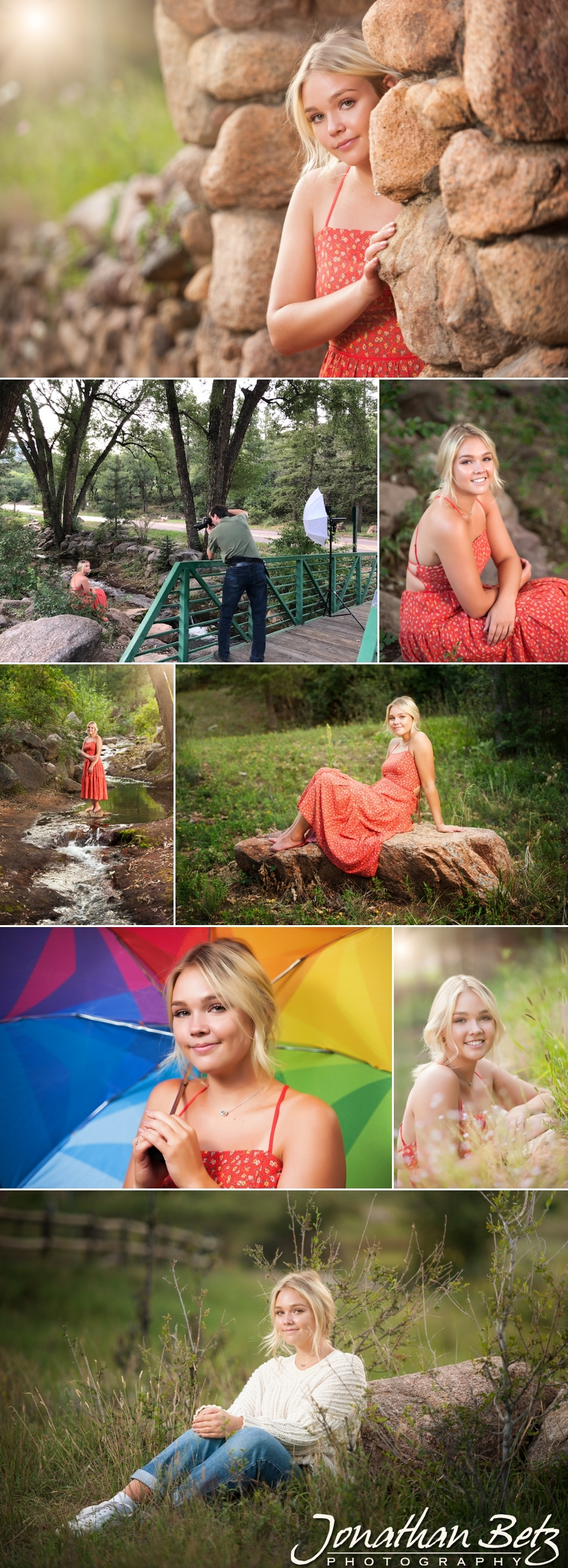 Discovery Canyon DCC High School Senior Portraits Jonathan Betz Photography Colorado Springs Photographer 1