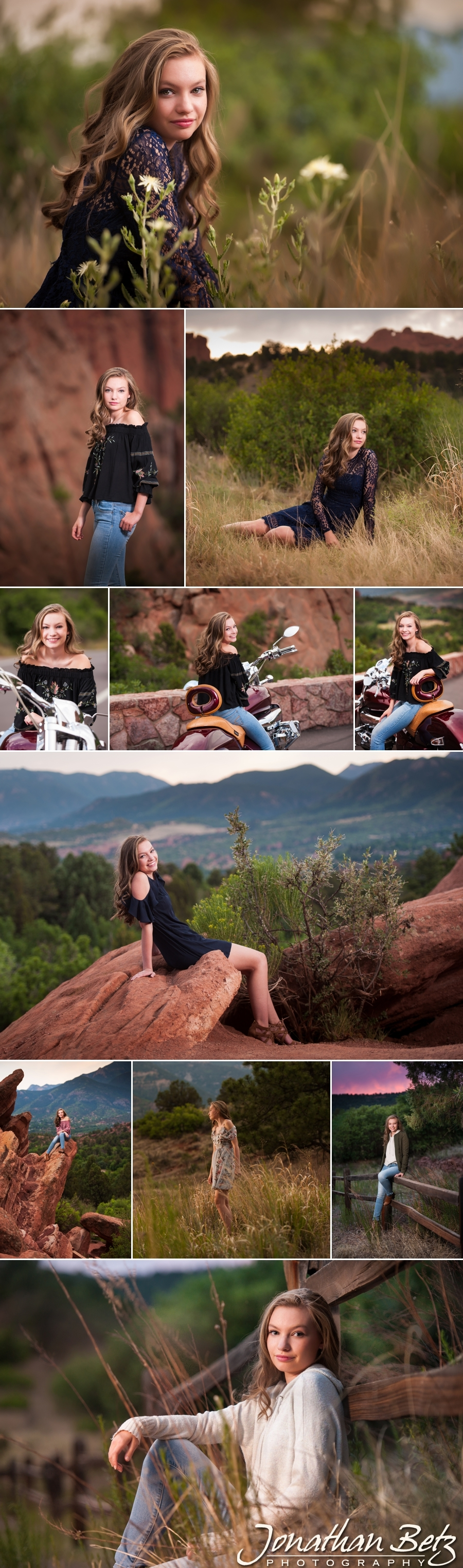 Lewis Palmer High School Senior Picture Monument Colorado Springs Photographer Jonathan Betz Photography 1