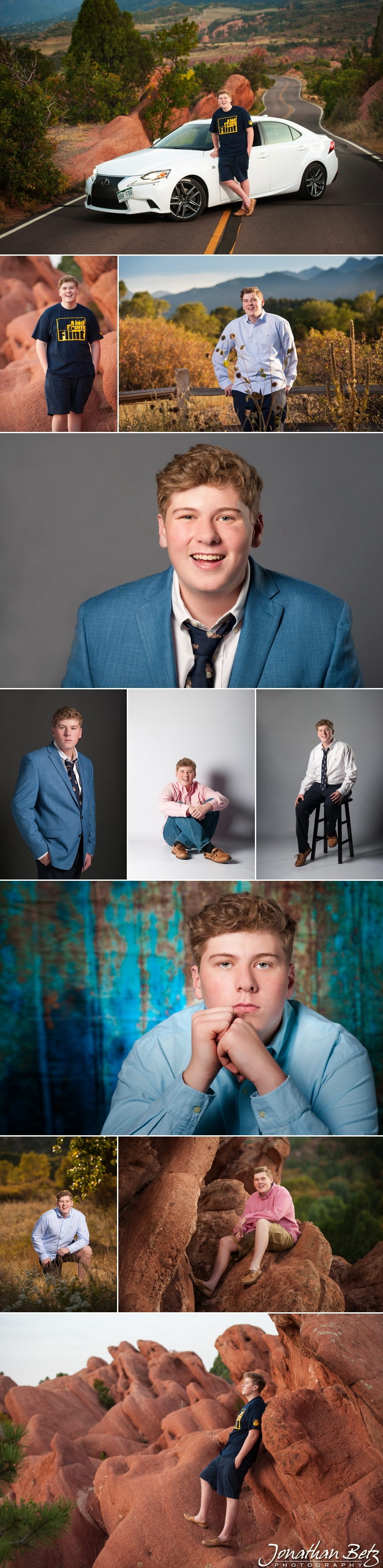senior pictures Pine Creek High School Senior guy studio and outdoor portraits Colorado Springs Photographer